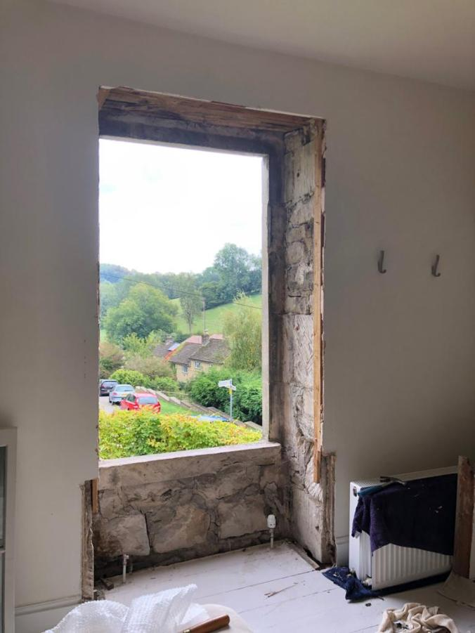 Replacing Our Sash Windows With Double Glazed Versions - Not Insignificant Work!