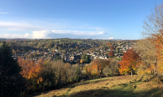 View Of Nailsworth Looking South