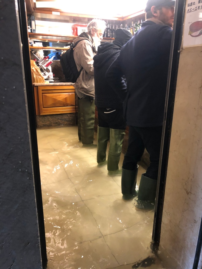 Locals At The Bar With Wellies