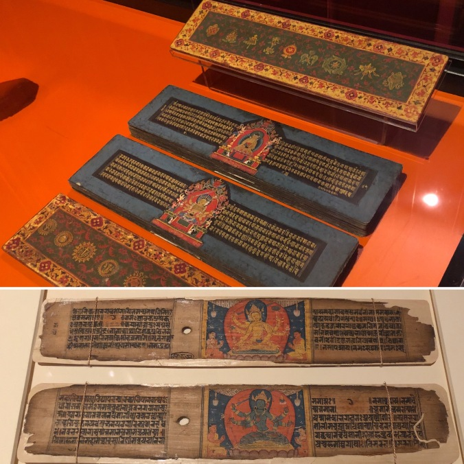 Nepalese Buddhist Palm Leaf Texts (17th and 12th Century)