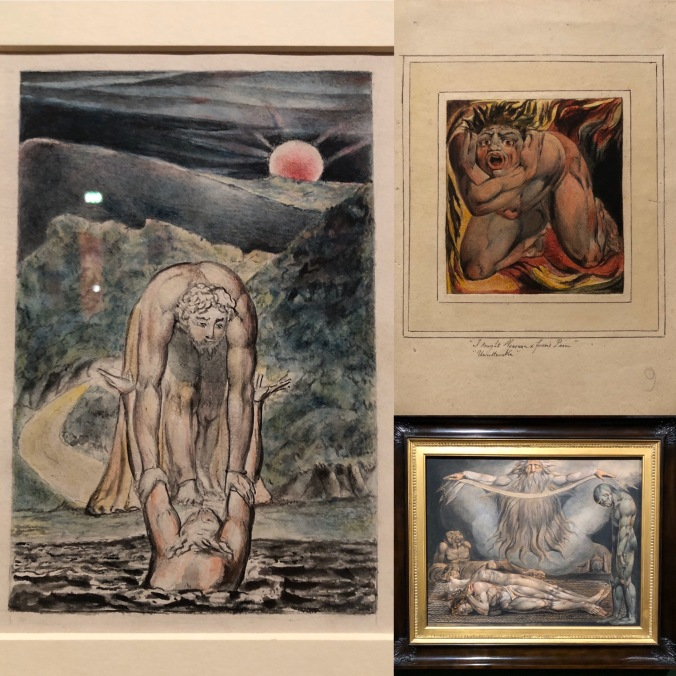 William Blake Engravings At Tate Britain