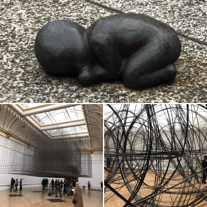 More Anthony Gormley At The Royal Academy