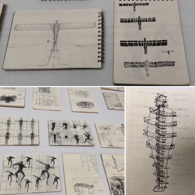 Some Of Antony Gormley's Workbooks