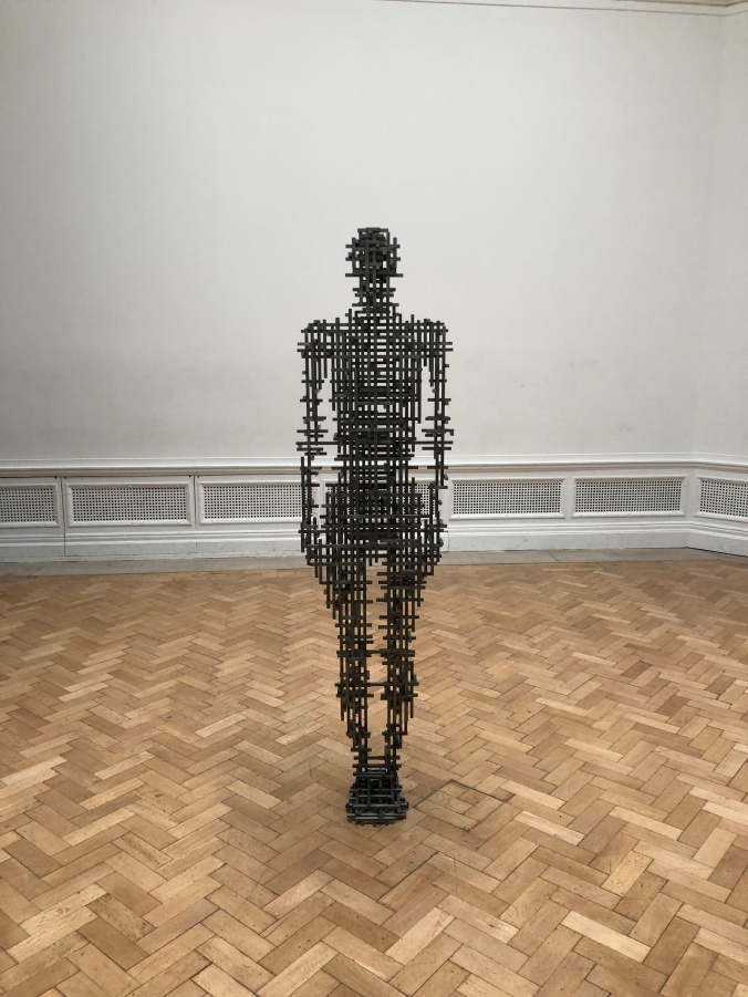 Subject II By Anthony Gormley At The Royal Academy