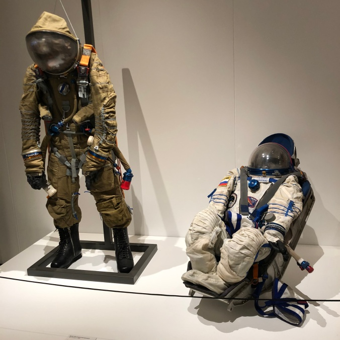 Soviet Pressurised Spacesuits