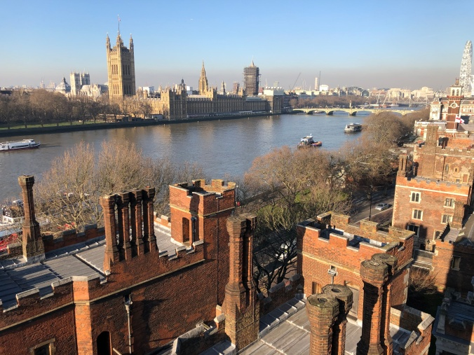 View From The Tower Of The Garden Museum, Lambeth