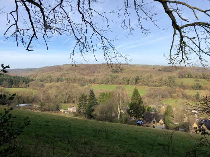 Typical Cotswold View On One OF My Local Walks