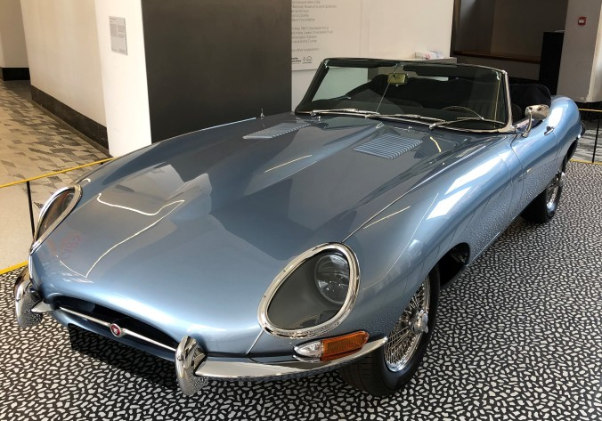 'Cars: Accelerating the Modern World' Exhibition At The V&A Starts And Finishes With This Shiny E-Type Jaguar