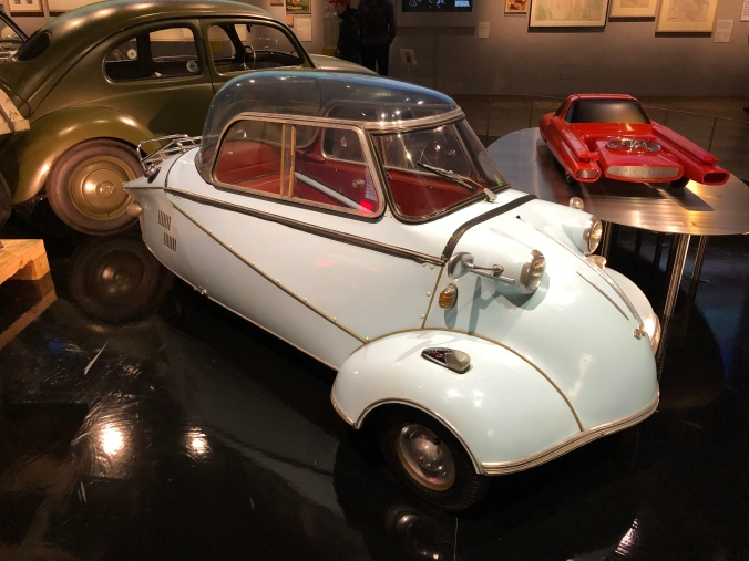 1959 Messerschmitt 'Bubble Car' - One Of The First Efforts to Address Fuel Scarcity