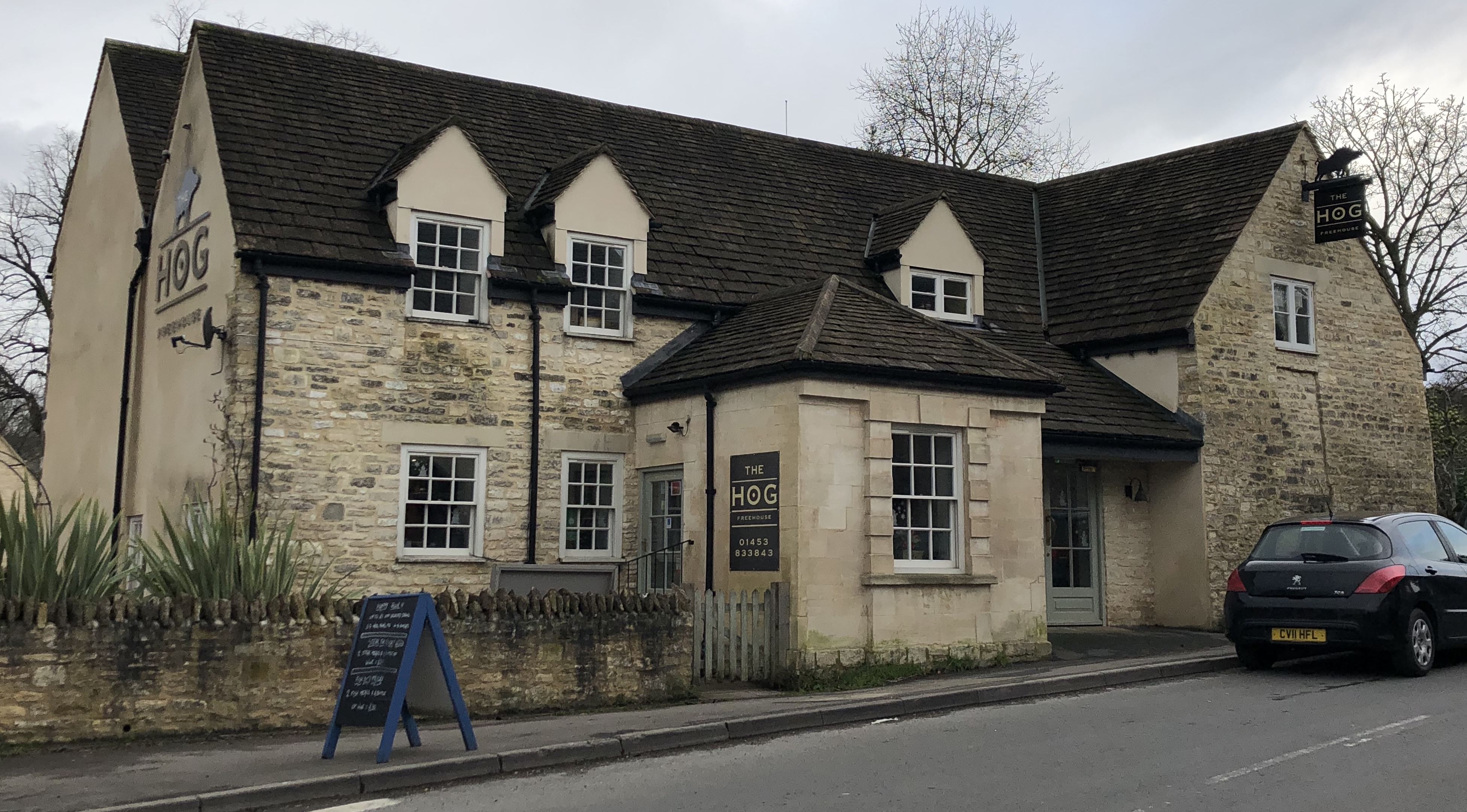 The Pub In The Centre Of The Village: The Hog