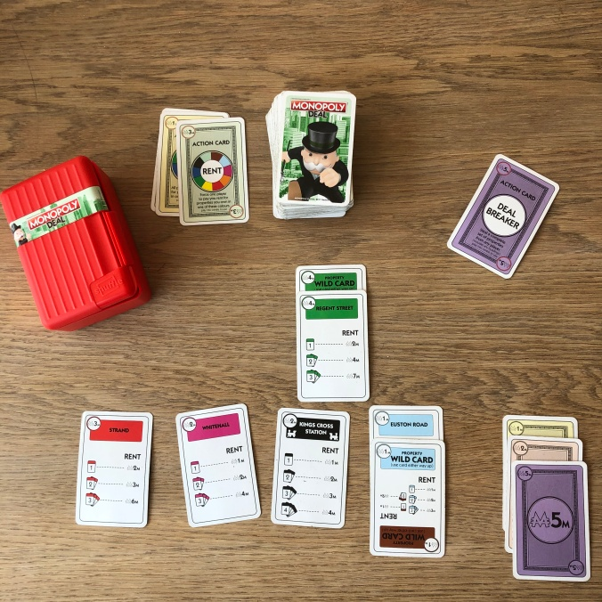 Monopoly Deal; A Cut Down Monopoly Game With Just Cards