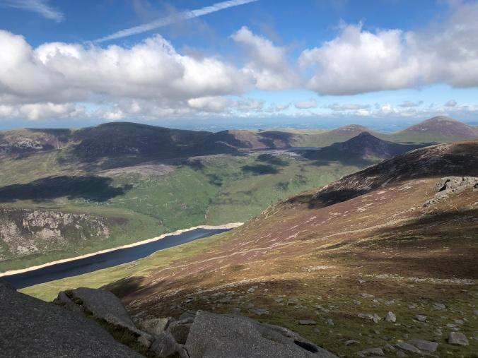 Views And Granite Rock Formations At The Summits