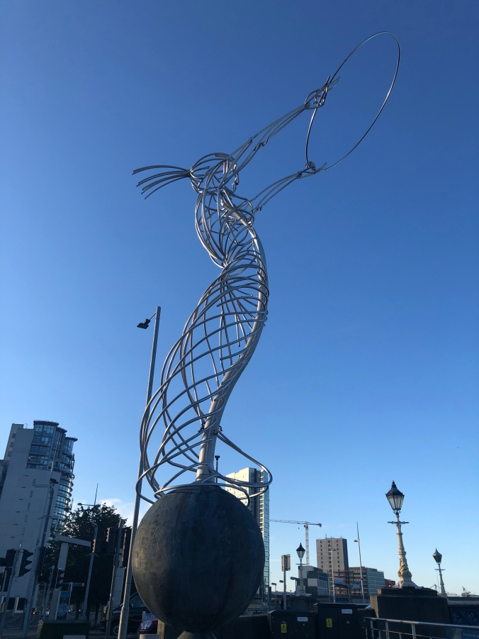 The 'Beacon Of Hope', Belfast (Also Known As: 'Nuala With The Hula' and 'The Thing With The Ring'
